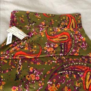 NWT Large LuLaRoe Azure Skirt